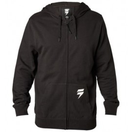 3LUE LABEL ZIP FLEECE [BLK]